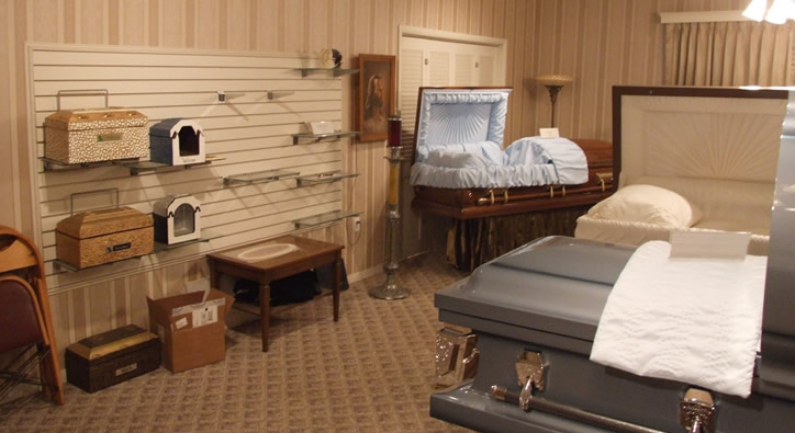 Casket Selection Room | Flint Funeral Home | Proudly serving Frankl